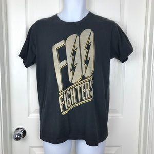 Shirts - Foo Fighters Band Graphic Tee Black Sz Medium